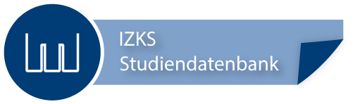 IZKS Studiendatenbank